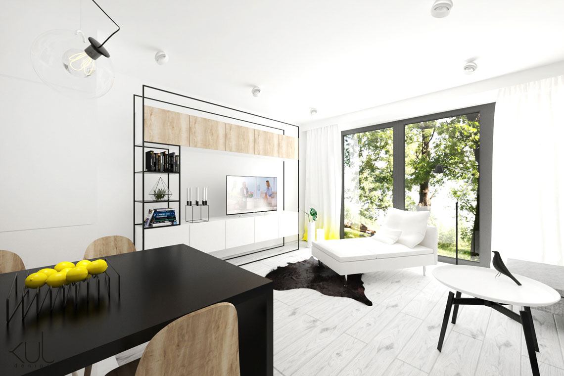 Projekt domu lebork