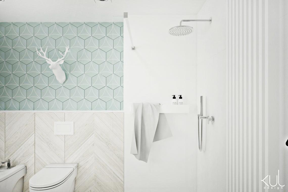 projekt łazienki borkowo